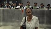 Di tengah-tengah aksi protes in, Pemimpin Hong Kong yang pro-Beijing memastikan bahwa pemerintahannya tidak akan membatalkan pembahasan rancangan undang-undang mengenai ekstradisi ke China. (AP Photo/Vincent Yu)