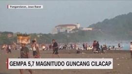 VIDEO: Gempa 5,7 Magnitudo Guncang Cilacap