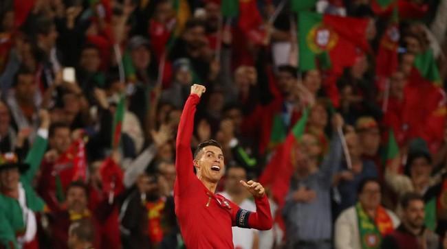 Skor 1-0 untuk Portugal bertahan hingga laga usai. Portugal sukses jadi juara UEFA Nations League edisi perdana. (Reuters/Carl Recine)