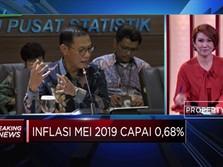 Bahan Pangan dan Transportasi Penyumbang Inflasi Mei 2019