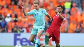 Redam De Jong, Portugal Juara UEFA Nations League