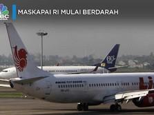 Kabar Tak Sedap dari Industri Penerbangan RI: Berdarah-darah!