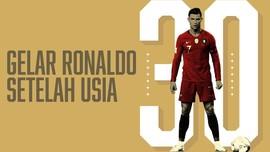 INFOGRAFIS: Daftar Gelar Ronaldo Setelah Usia 30