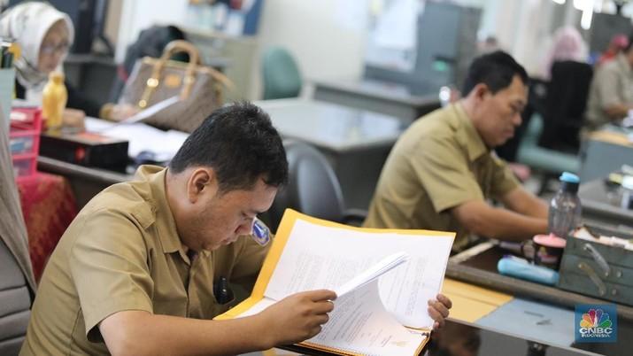 Belanja pegawai pada 2020 dianggarkan sebesar Rp 416,14 triliun.