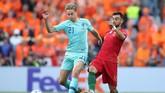 Sukses Ajax Amsterdam melahirkan pemain-pemain muda berbakat turut berperan di balik kebangkitan Belanda, salah satunya lewat kehadiran Frenkie de Jong. (Reuters/Carl Recine)