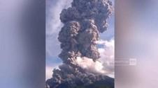 VIDEO: Detik-detik Gunung Sinabung Kembali Erupsi