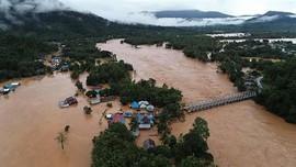 Korban Banjir Konawe Utara Masih Bertahan di Pengungsian