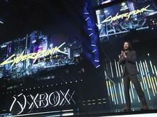 Momen Keanu Reeves Curi Perhatian di Gelaran Microsoft Xbox