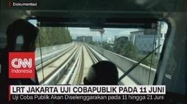 VIDEO: LRT Jakarta Uji Coba Publik Pada 11 Juni