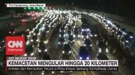 VIDEO: Kemacetan Mengular Hingga 20 Km di Tol Cipularang
