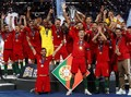 FOTO: Ronaldo Antar Portugal Juara UEFA Nations League