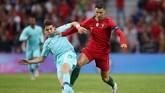 Timnas Portugal menghadapi timnas Belanda pada final UEFA Nations League edisi perdana. (Reuters/Carl Recine)