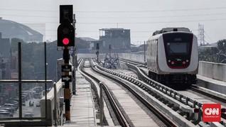 Tunggu Jalur Dukuh Atas Selesai, Operasional LRT Mundur 2021
