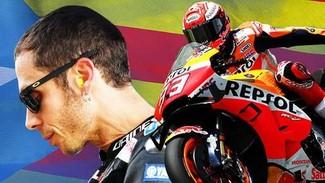 Jegal Marquez di MotoGP Catalunya