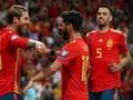 FOTO: Timnas Spanyol Hancurkan Swedia