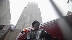 FOTO: Kecelakaan Helikopter di Tengah Hiruk-Pikuk Manhattan