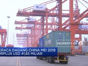 Neraca Dagang China Nilai Mei 2019 Surplus USD 41,65 Miliar