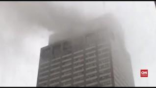 VIDEO: Kecelakaan Helikopter di Manhattan Disebut Bukan Teror