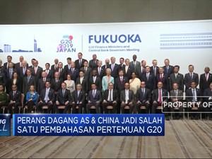 Perang Dagang AS-China akan Dibahas di G20