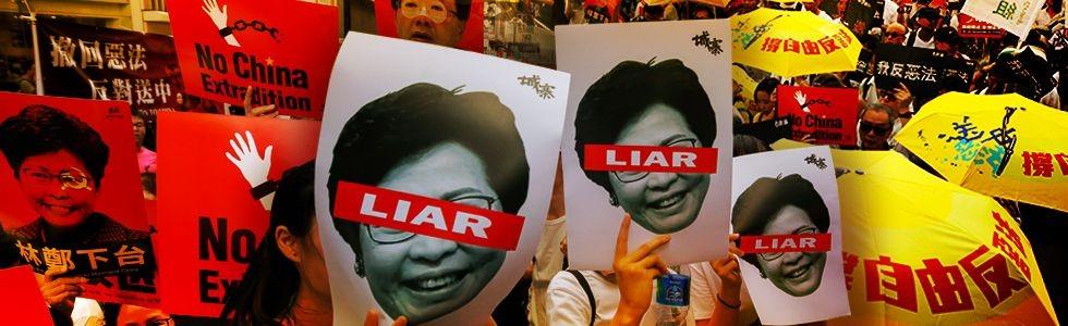 RUU Ekstradisi Rongrong Hong Kong