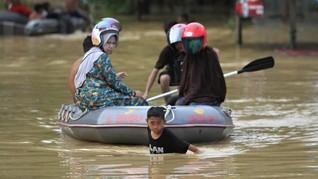 5.000 Keluarga di Lebak Terdampak Banjir, 180 Rumah Terendam