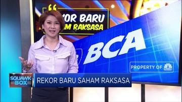 Tak Mau Kalah Saham Bca Rekor Kokoh Jawara Market Cap