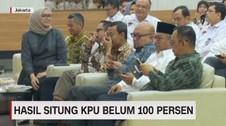 VIDEO: Hasil Situng KPU Belum 100 Persen