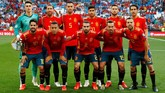 Timnas Spanyol menjamu timnas Swedia dalam lanjutan kualifikasi Piala Eropa 2020. (REUTERS/Sergio Perez)