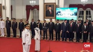 Jokowi Lantik Arinal Djunaidi Jadi Gubernur Lampung