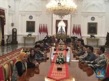 Kadin & HIPMI Merapat ke Istana, Bertemu Jokowi-Erick Thohir