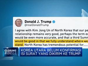 Trump Dapat 'Surat Hangat' Dari Kim Jong-Un