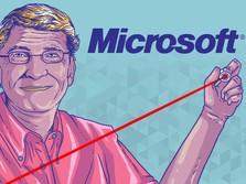 Ketika Duit Rp 12 Juta, Cuan Rp 883 Juta di Saham Microsoft