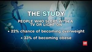 VIDEO: Studi Sebut Tidur dengan Lampu Menyala Picu Obesitas