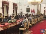 Kumpulkan Para Pengusaha, Jokowi Minta Tiga Pekerjaan