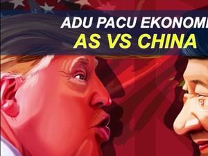 Adu Pacu Ekonomi AS Vs China