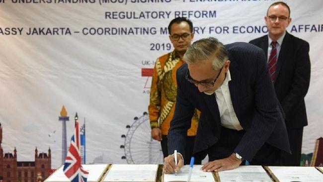 Inggris Guyur Bantuan Rp20 M ke RI untuk Benahi Aturan Bisnis