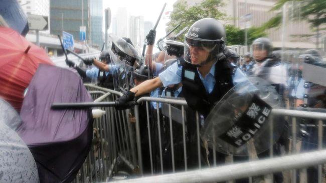 Ricuh Demo RUU Ekstradisi Hong Kong Melukai 72 Orang
