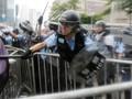 Serikat Jurnalis Hong Kong Demo Protes Kekerasan Polisi