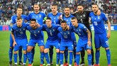 Timnas Italia melakoni laga keempat kualifikasi Piala Eropa 2020 dengan menghadapi Bosnia-Herzegovina di Stadion Allianz. (REUTERS/Massimo Pinca)