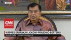 VIDEO: Wapres JK sarankan Jokowi-Prabowo Bertemu Secepatnya