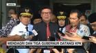 VIDEO: Mendagri dan Tiga Gubernur Datangi KPK