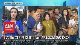 VIDEO: Pansel KPK 2019-2023 Datangi Pimpinan KPK