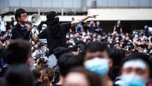 1 Orang Tewas Saat Kerusuhan, 5 Pemuda Hong Kong Ditangkap