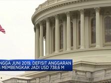 Defisit Anggaran AS Membengkak jadi USD 738,6 M