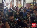 Sidang Gus Nur di PN Surabaya, Banser dan FPI Saling Dorong