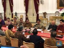Ekspor Jeblok, Jokowi Jengkel di Depan Pengusaha