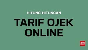Hitung-hitungan Tarif Ojek Online