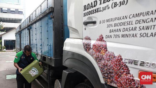 Uji Coba B30, Pertamina Serap 209 Ribu Kl Biodiesel