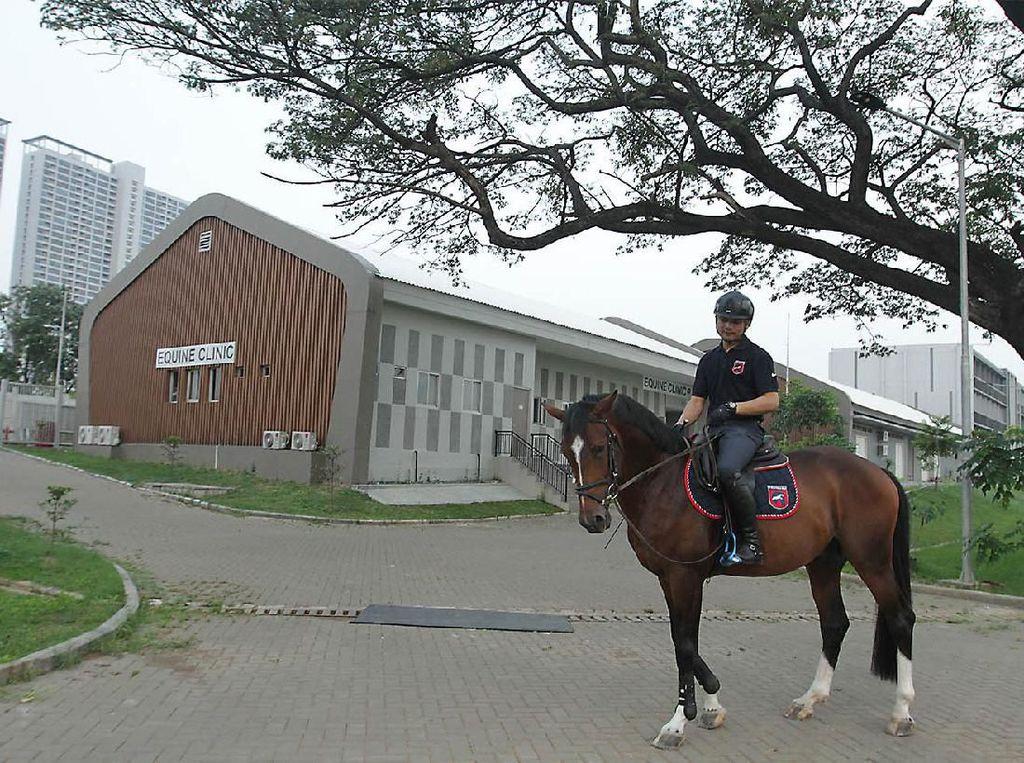 Intip Venue Equestrian Berkelas Internasional di Pulomas