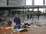 Ini Penampakan Jalanan di Hong Kong Usai Demo yang Ricuh